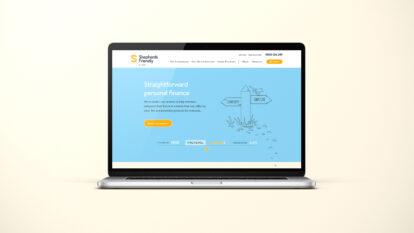 Shepherds Friendly desktop website