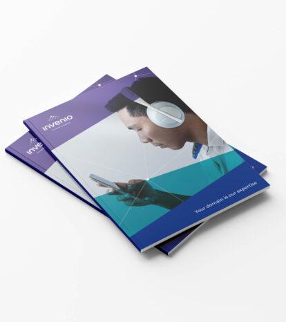 Invenio brochure covers