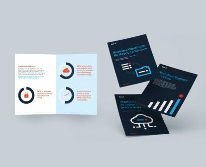 San-iT marketing leaflets